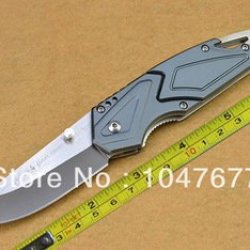 Sog Flash Tanto Aluminium Handle Fast Open Folding Pocket Knife Fd17