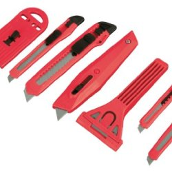 Tekton 96909 Snap-Off Knife And Scraper Set, 8-Piece