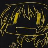 ひだまりスケッチ×☆☆☆ 宮子 Tシャツ ブラック サイズ:L