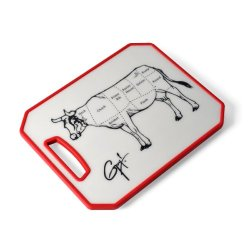 Guy Fieri Non Slip Cutting Board With Cow Image, 11-Inch By 14-Inch