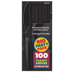 Black Big Party Pack - Knives