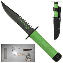 Z-Killer Mini Hunting Survival Clip Point Knife