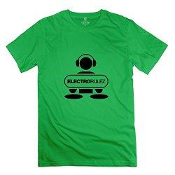 Dj Electro Rulez Generic Man T Shirts