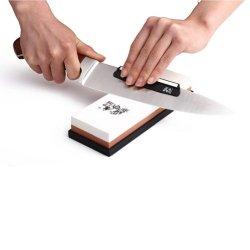Taidea Corundum Whetstone Comb Knife Sharpener Sharpening Stone 600/1000 Grit
