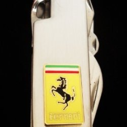 Ferrari Stainless Steel Army Knife-13 Functions