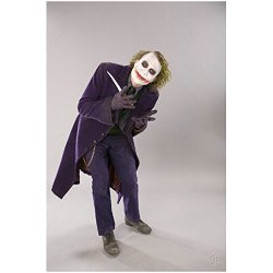 Batman: The Dark Knight Heath Ledger Is The Joker Posing With Knife Promo 8 X 10 Photo