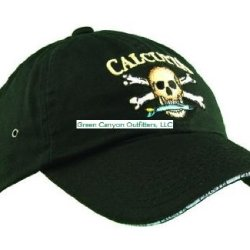 Calcutta Men'S Low Profile Cap (Black, One Size)