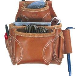 Custom Leathercraft 21683 Nail And Tool Bag, 8-Pocket
