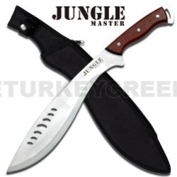 """Jm-027Sl 19"""" Full Mni12U6Zz Tang Pa8Kg Stainless Steel Jungle Machete Kukri Knife Ayeuiu56 Hlbv23Rt Full Tang Black Stainless Steel Jungle Machete Ytbwum Kukri Knifefeatures:19 Qy7Q7M Inch Overall In Lengthfull Tang Stainless Steel Bladewood Handleinclude"""
