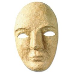 """Creativity Street - 6 Pack - Paper Mache Mask Kit 8 X 5 1/2"""" """"Product Category: Classroom Teaching & Learning Materials/Teacher'S Aids & Manuals"""""""