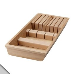 Ikea - Rationell Knife Tray, Beech