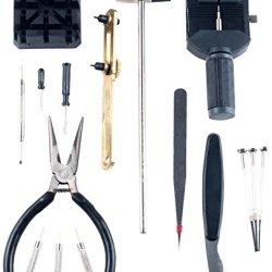 Stalwart 16-Piece Professional Watch Jewelry Repair Tool Kit