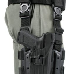 Blackhawk! Serpa Level 3 Light Bearing Tactical Holster For Xiphos Nt Light, Black/Size 13, Left Hand (Glock 20/21/21Sf (Not 1913 Rail)