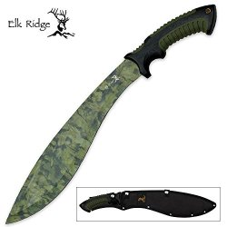 Elk Ridge Er-059Ca Fixed Blade Knife, 7-Inch Overall