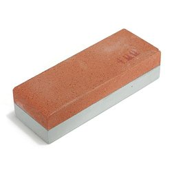Sharpening Stone Duel Grit Knife Razor Polishing Whetstone Two Sides Sharpener