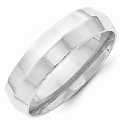Perfect Jewelry Gift 14Kw 6Mm Knife Edge Comfort Fit Band Size 9