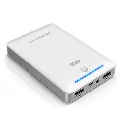 Ravpower® 3Rd Gen Deluxe 13000Mah External Battery Portable Dual Usb Charger 4.5A Output Power Bank. Ismart(Tm) Broad Compatibility, Fast Charging, High Capacity, Ultra Compact. For Iphone 6 6 Plus 5S 5C 5 4S, Ipad Air Mini (Apple 30Pin And Lightning Cabl