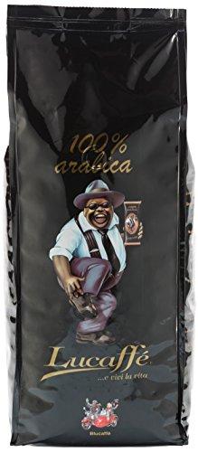 Lucaffè Mr. Exclusive 100% Arabica, Bohne, 1er Pack (1 x 1 kg)