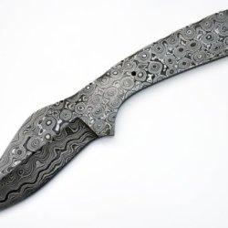 Knife Making Damascus Skinning Blank Knives Steel 1095 Hc Skinner Hunting Blade