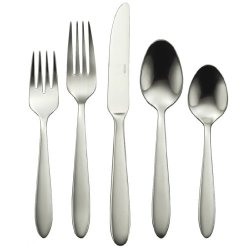 Oneida Mooncrest 65-Piece Flatware Sets, Service For 12
