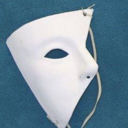 51435 Phantom Of The Opera Mask Asymmetrical Edges