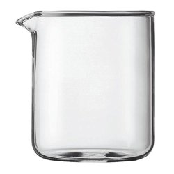 Bodum Transparent Glass Spare Coffee Maker Beaker 4 Cup 0.5L (17Oz)