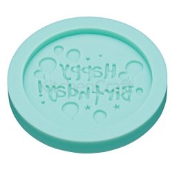"""Kitchen Craft Sweetly Does It """"Happy Birthday"""" Fondant Mould - 64Mm"""