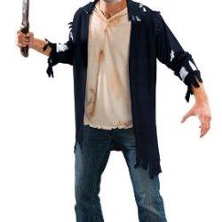 Dupl - Do Not Use Friday The 13Th Jason Machete Kit Halloween Costume (B340)