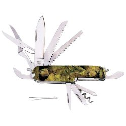 3 Pack - Camo 16 Function Knife (Knives/Multi-Tools - Swiss Army Style)