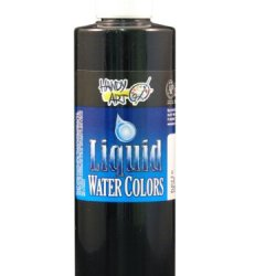 Handy Art By Rock Paint, 276-055, Washable Liquid Watercolor 1, Black, 8-Ounce