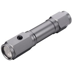 Ingear Quick - Exit. Equipped With A Window Battering Steel Tip And Razor. This Flashlight Makes For The Perfect Vehicle Emergency Light. Great For Car Emergency, Survival Kit, Camping & Outdoor Activities. Led Flashlight, Batteries Included!