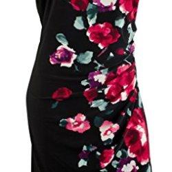 Ralph Lauren Women'S Cap-Sleeve Floral-Print Dress-Blm-6