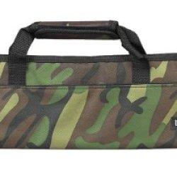 Messermeister 5 Pocket Camouflage Knife Bag