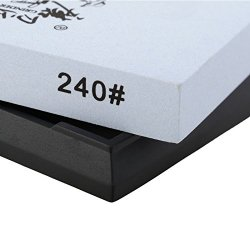 Annengjin® Taidea 240 Grit 7-Inch Professional Knife Sharpening Stone /Single-Side Whetstone