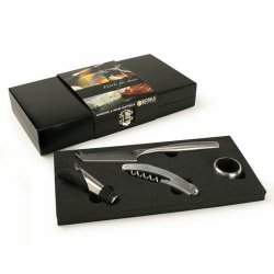 Wine And Cheese Tool Set In Luxury Gift Box (3 Pound)