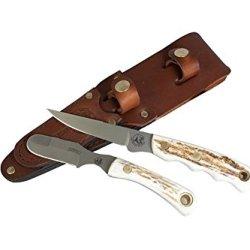 Knives Of Alaska Jaeger Muskrat Combo - Stag