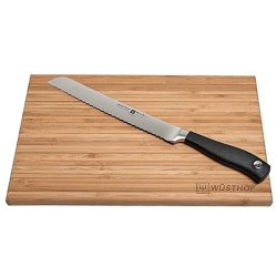 Wusthof Grand Prix Ii Bread Knife And Cutting Board, 2 Piece Set