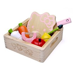 Playing House Wooden Box Set Of The First Educational Toy Hello Kitty G05-1137-L (Japan Import)