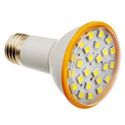6 W E27 X5050Smd 25 450-500 Lm 6000 K Cold White Led Bulb Sizes (200-240 - V)