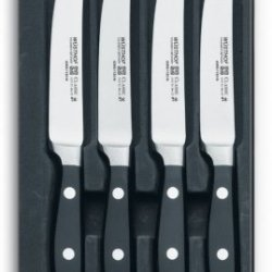 Wüsthof Classic Steak Knife Set, 4-Piece