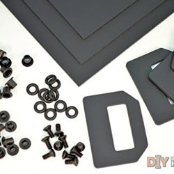 """Kydex (Boltaron) Holster Diy Kit W/ Owb Pancake Wings (1.5"""" Belts)"""