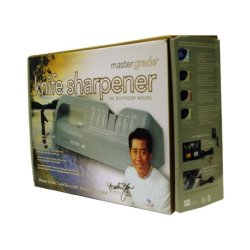 Master Grade Outdoor Dc Power Commercial Knife Sharpener Bundle Deal With Martin Yan'S Knives