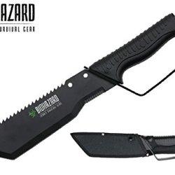 "Swordmaster - Wartech Biohazard Zombie ""Amputator"" Dring Fixed Blade Knife With Sheath"