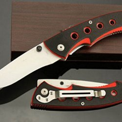 Charm Outdoor Survival Camping Pocket Folding Knife Glbytc-7.87''