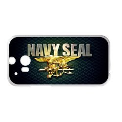 Jdsitem Unique U.S. Navy Seals Retiary Design Case Cover Sleeve Protector For Phone Htc One M8 (Laser Technology)