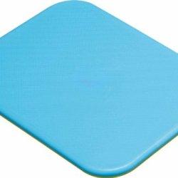 Kitchen Craft Chopping Cutting Board, Non Slip Base: Blue & Green