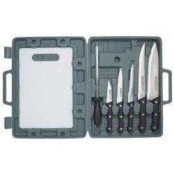 8Pc Cutlery W/Cutting Board
