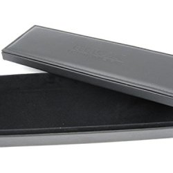 Buck Black Leatherette Display Case Box With Lid For Knife - Desk Table Shelf Top 0000F5 For 110 112