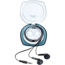 Jvc Haf10C Earbuds With Hard Carrying Case (Black)