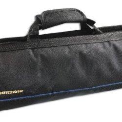 Messermeister 8-Pocket Knife Roll, Black
